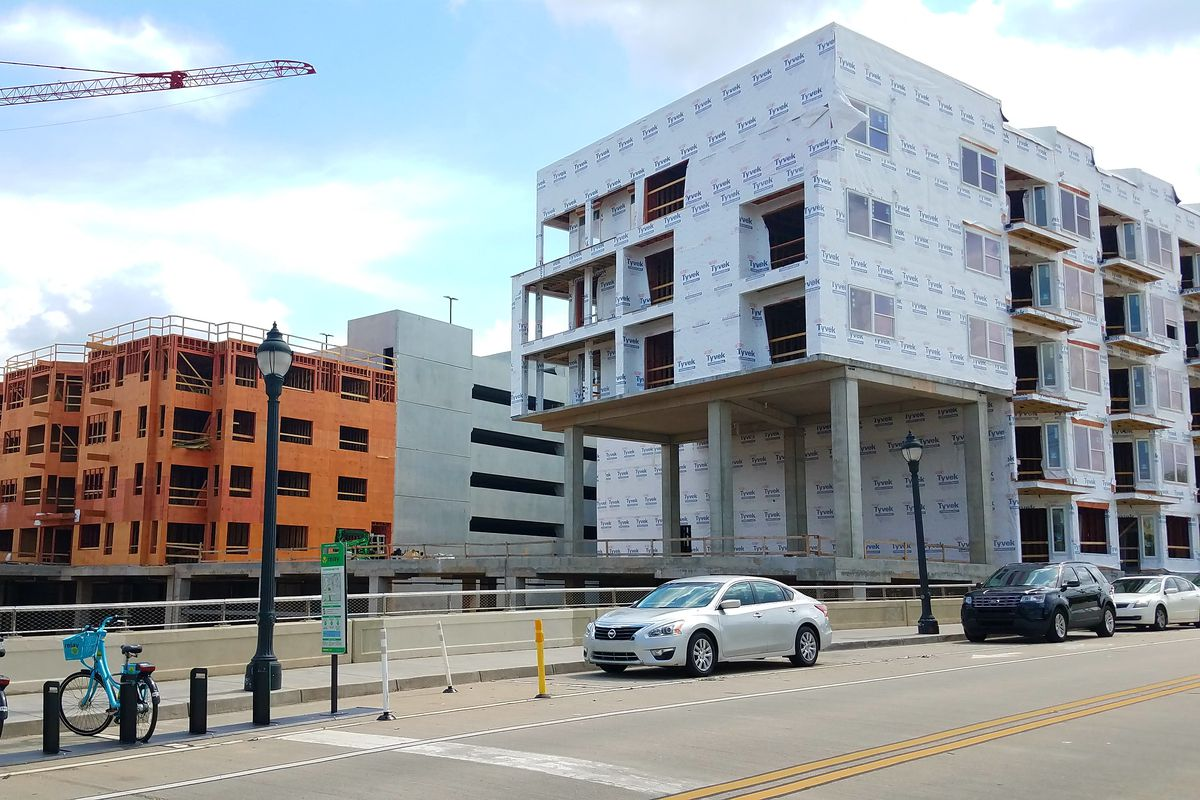 How the project's westernmost facet meets Edgewood Avenue—and the future Beltline, beneath—in Old Fourth Ward.