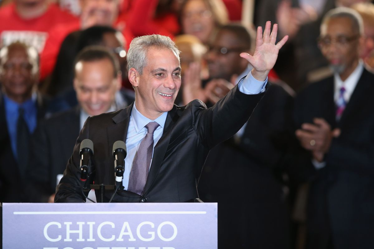 Rahm Emanuel hoped to win re-election in Chicago on Tuesday, but the election is going to a runoff.