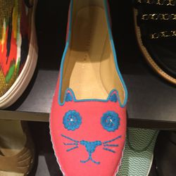 Charlotte Olympia flats, size 8, $347.50 (was $695)