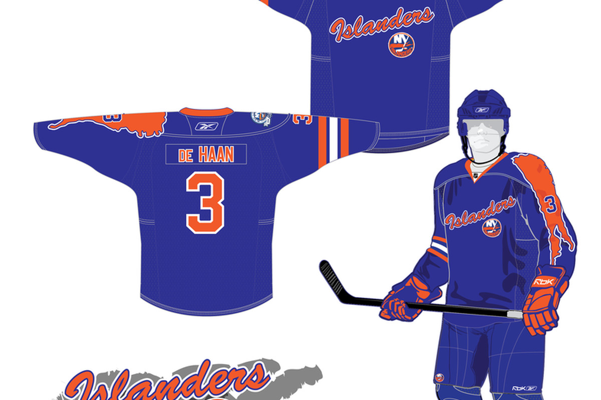 """An Islanders 3rd concept from Andy Facini. View <a href=""""http://img51.imageshack.us/img51/3197/nyialt1.png"""">larger image</a>."""