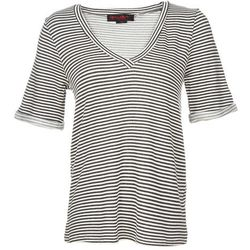 "<b>Tiffany Yannetta, <a href=""http://ny.racked.com"">Racked New York</a> editor:</b> I got <a href=""http://www.scoopnyc.com/stripe-jersey-curved-hem-tee.html?utm_source=polyvore&utm_medium=cpc&utm_campaign=tops"">this</a> <b>Alice + Oliva</b> tee shirt as a"