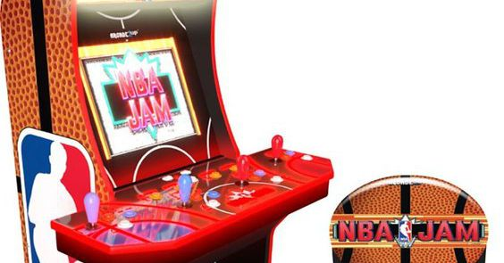 The 'NBA Jam' arcade cabinet is affordable now. Here are other classic games we need