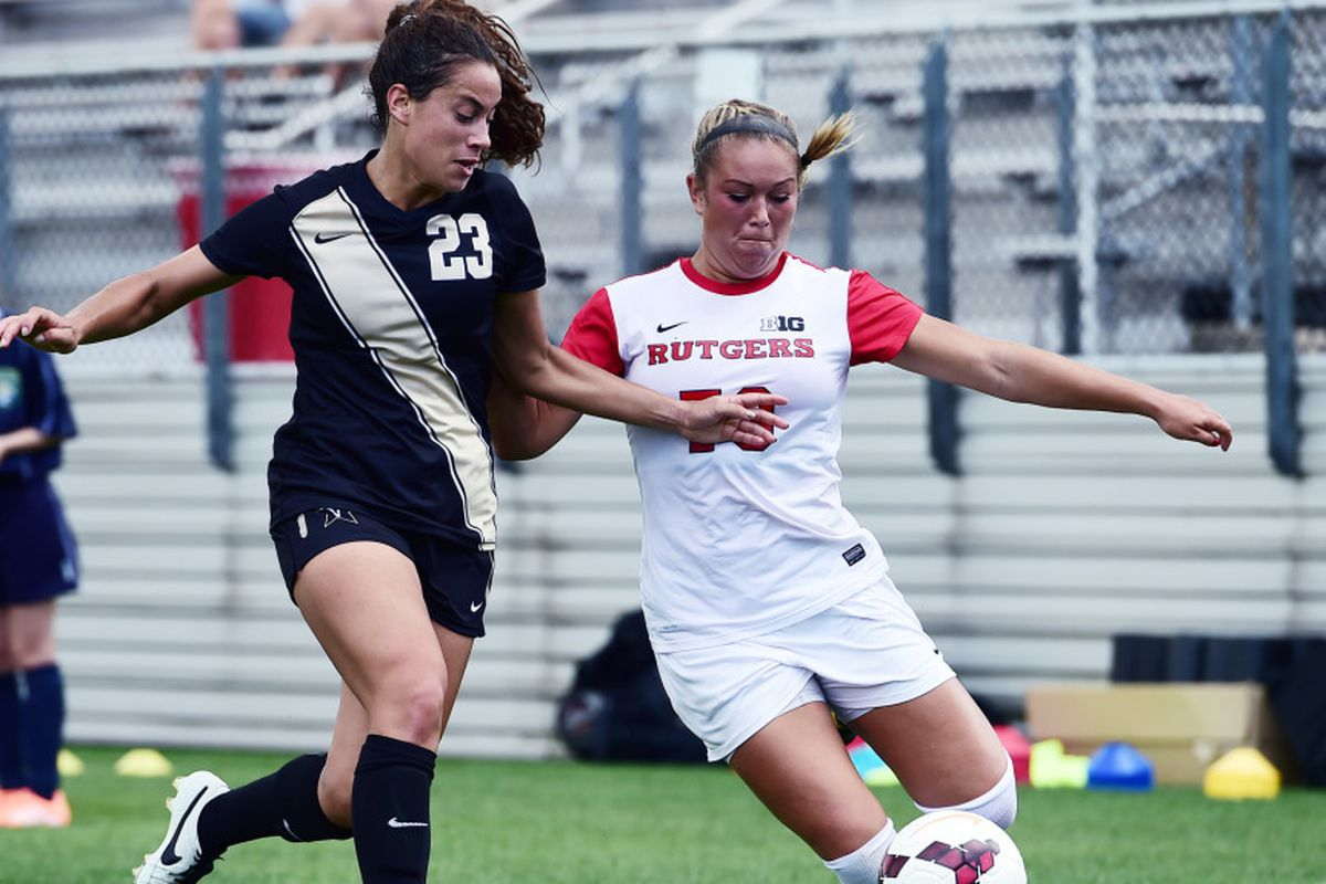 Sophomore Madison Tiernan scored the lone goal in the 1-0 win over PSU