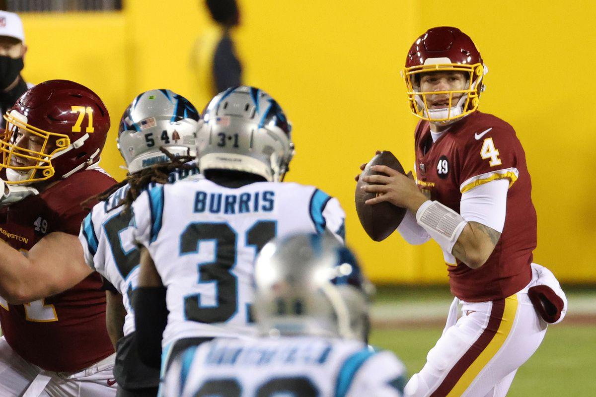 NFL: Carolina Panthers at Washington Football Team
