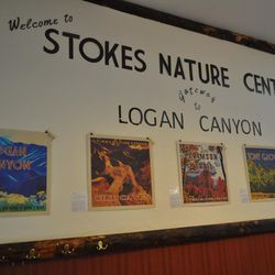 Stokes Nature Center up Logan Canyon offers family-friendly activities.