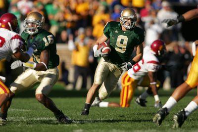 NCAA Football - USC vs Notre Dame - October 15, 2005
