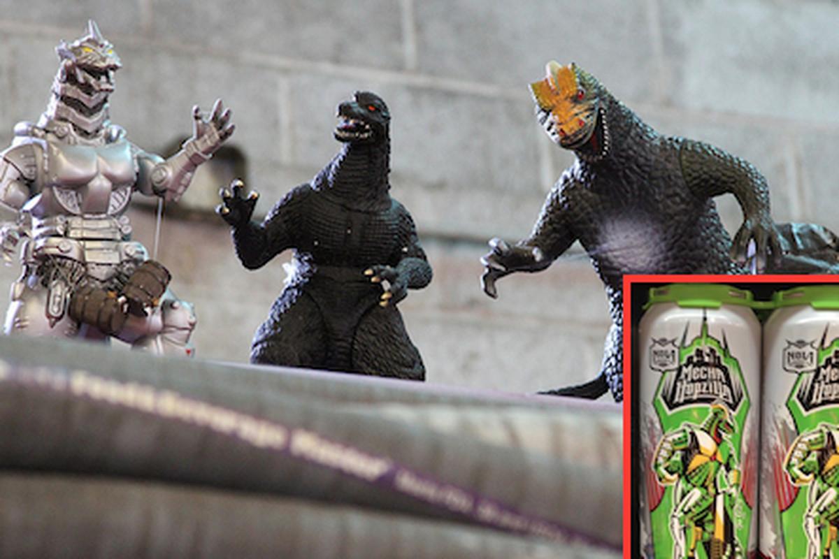 Godzillas at NOLA Brewing
