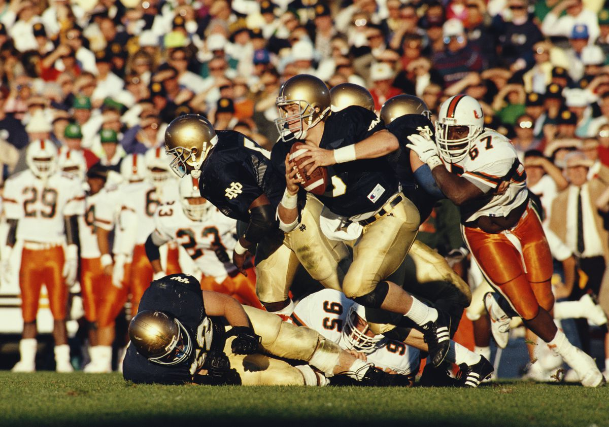 University of Miami (FL) Hurricanes vs Notre Dame Fighting Irish