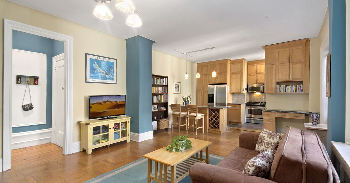 How Much For A One Bedroom Co Op Steps From Columbia University Curbed Ny: how much is a one bedroom apartment in san francisco