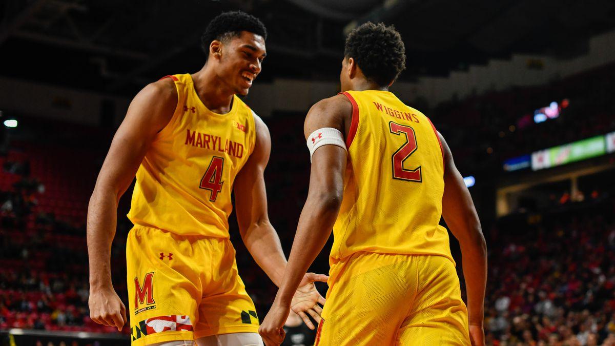Aaron Wiggins, Ricky Lindo, Maryland men's basketball