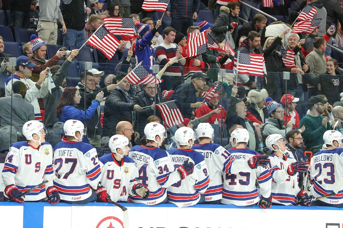 Sweden beats USA 4-2 in world junior hockey semifinals
