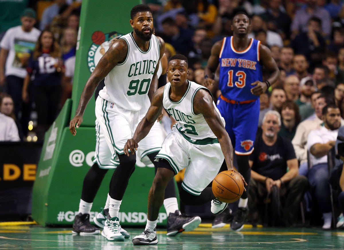 NBA: Preseason-New York Knicks at Boston Celtics