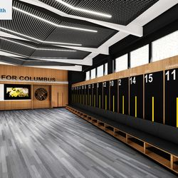The First Team will have an exclusive locker room