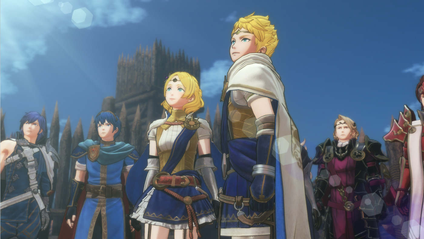 The heroes of Fire Emblem prepare for war.