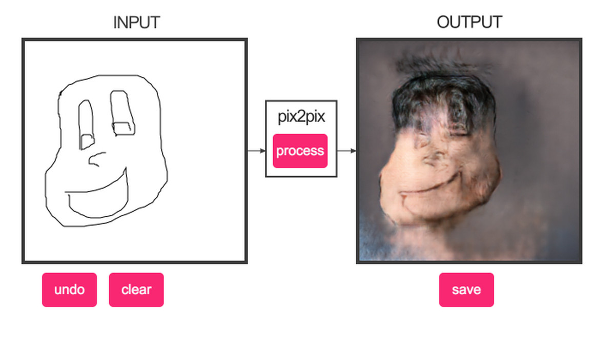 Pix2pix is another good web tool for making horrifying for A website where you can draw