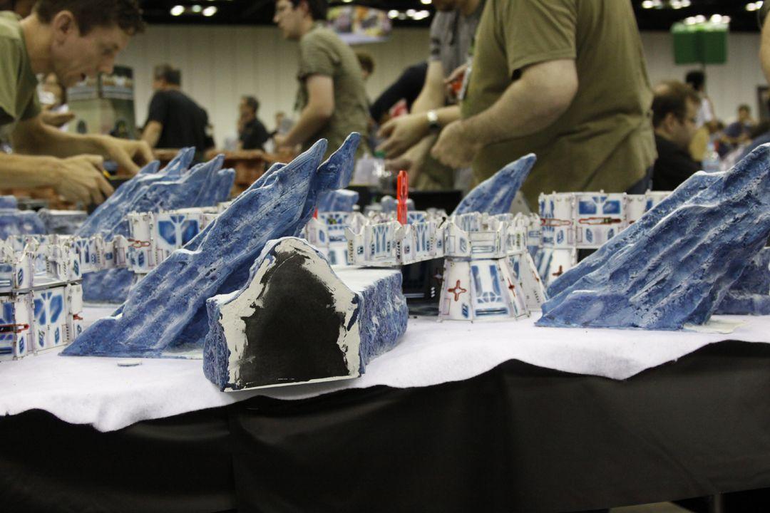 Gen Con wargames hall feature photo essay gallery
