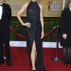 Jenna Elfman went really sheer.