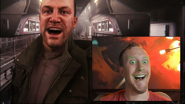 Star Citizen's facial recognition tech is horrifyingly realistic