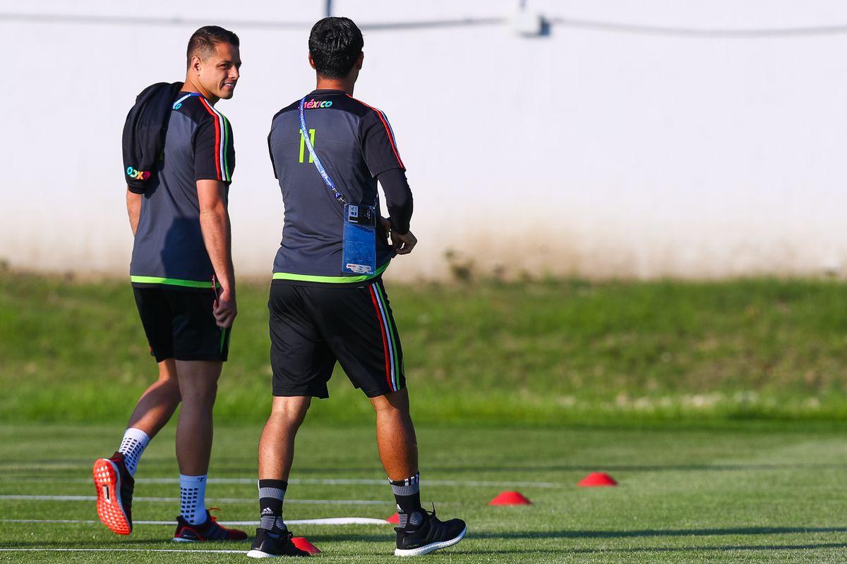 Mexico Training - FIFA Confederations Cup Russia 2017