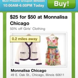 Monnalisa is right up the street!