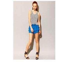"<a href=""http://www.pixiemarket.com/store/ruffletapshorts-p-4924.html""> Anna Studio ruffled tap shorts $145</a>, pixiemarket.com"
