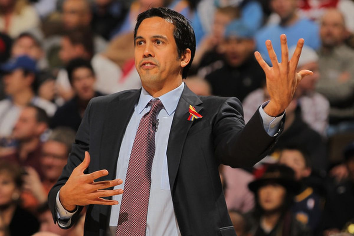 Erik Spoelstra got so bored with this game that he began practicing his Guitar Hero technique.