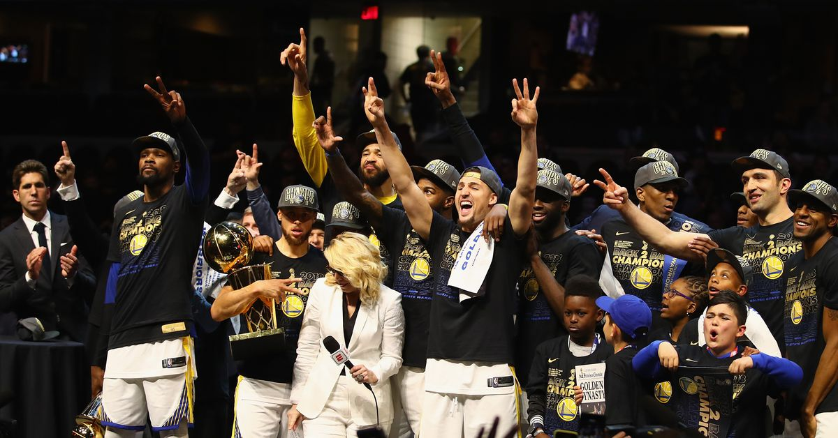 The Warriors are favorites to win the NBA Finals again - Golden State Of Mind