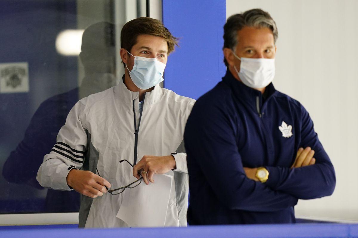 NHL: Toronto Maple Leafs-Workouts