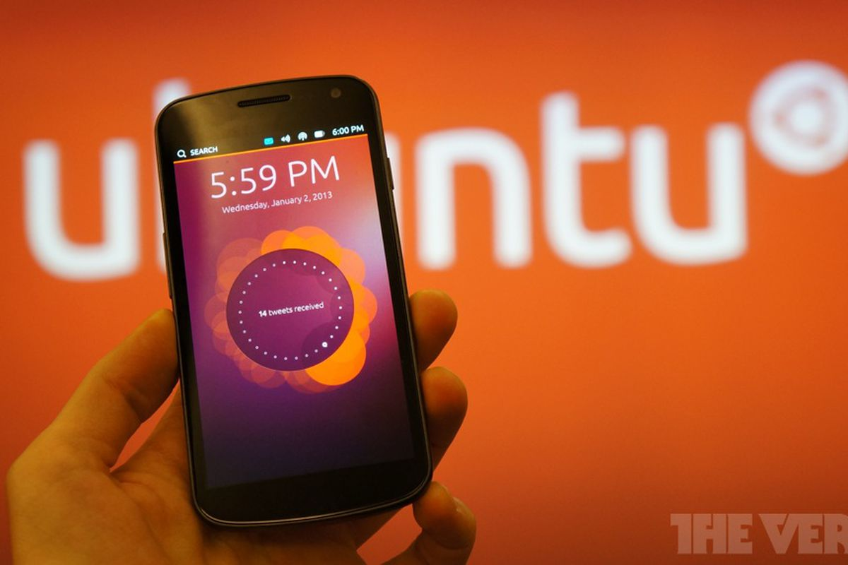 Ubuntu Touch Os Phones Coming From Unnamed Oem Next Year The Verge Circuit Simulator Phone