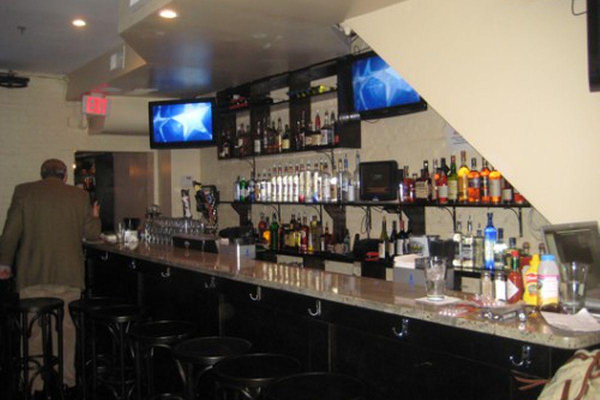 First-floor bar