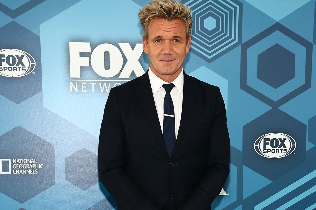 Shouty Chef Gordon Ramsay Is Bringing \'The F Word\' to the U.S. - Eater