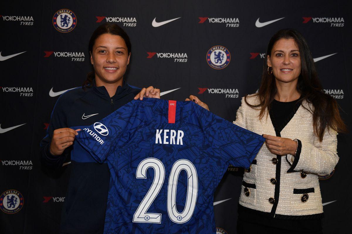 Chelsea Women Unveil New Signing Sam Kerr
