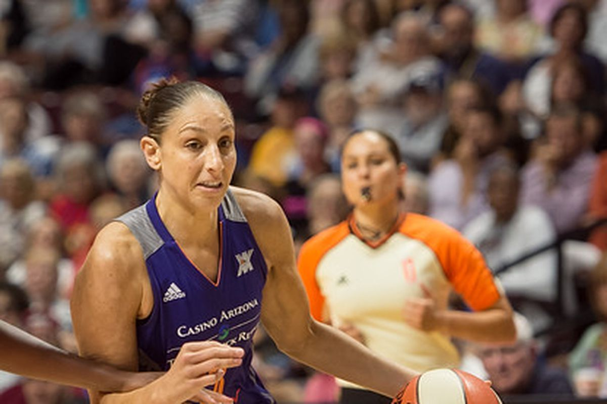 4521dcf75da Phoenix thrashes Dallas by 42  Taurasi ties WNBA record - Swish Appeal