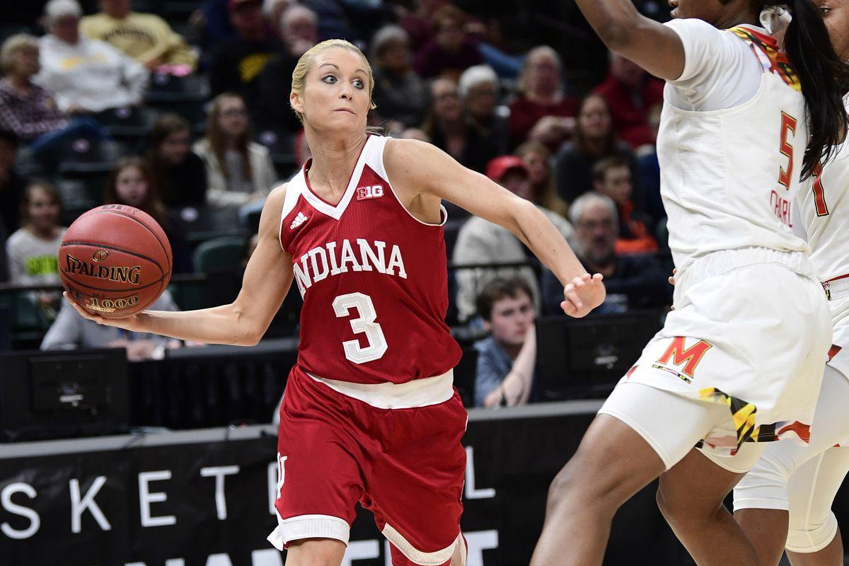 NCAA Womens Basketball: Big Ten Conference Tournament Indiana vs Maryland