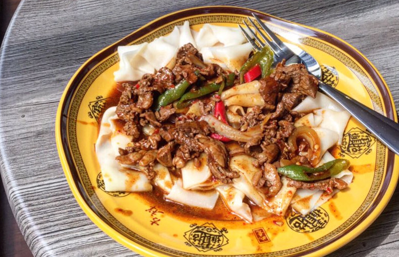 Xi'an Biang Biang, in Spitalfields, opened this week