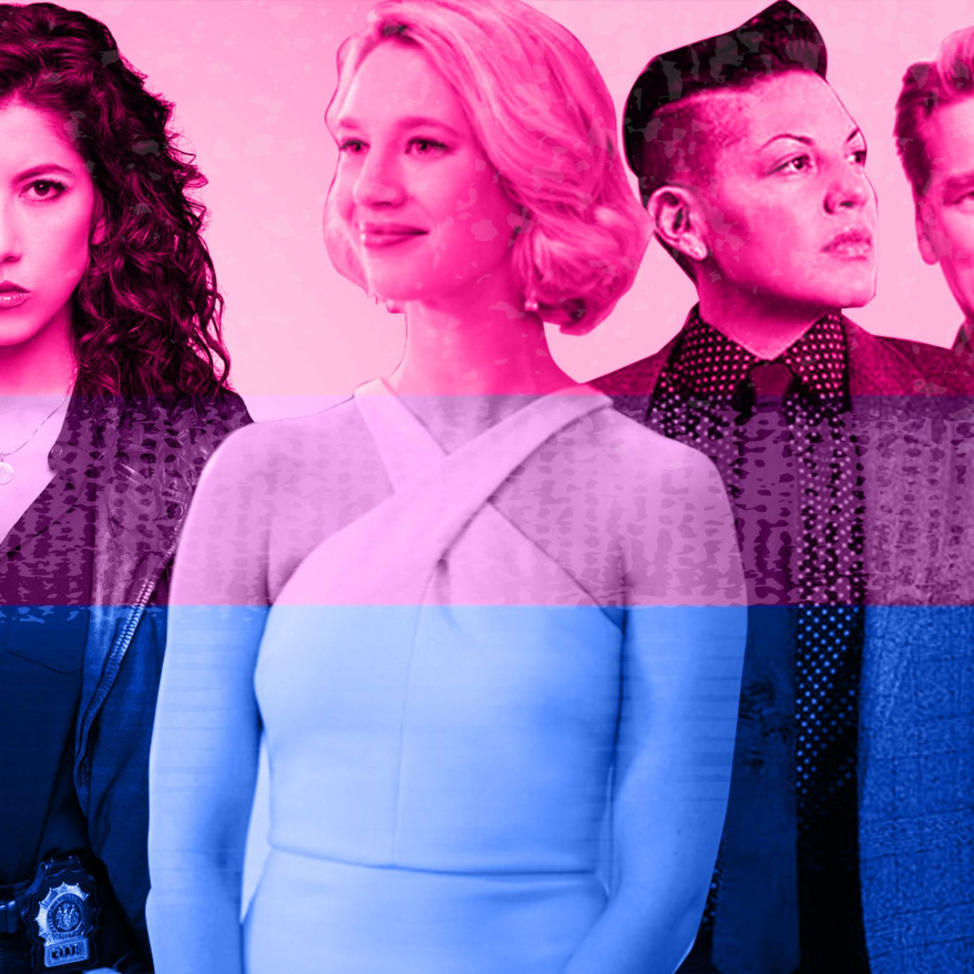 How Tv S Bisexual Representation Evolved From A Joke To A Vital