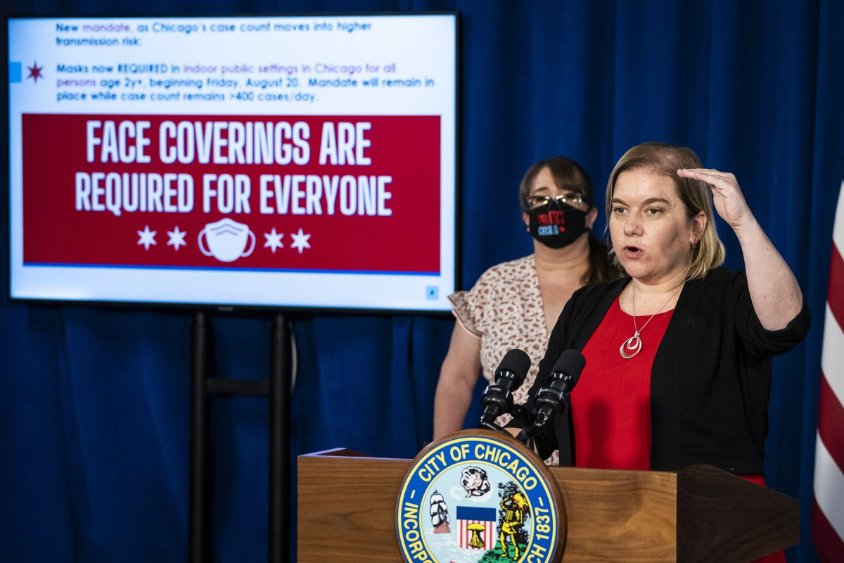 Chicago Public Health Commissioner Dr. Allison Arwady discusses the return to an indoor mask mandate in August.