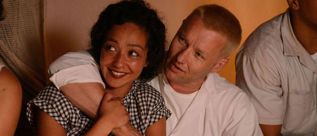 Ruth Negga and Joel Edgerton play Richard and Mildred Loving in Loving