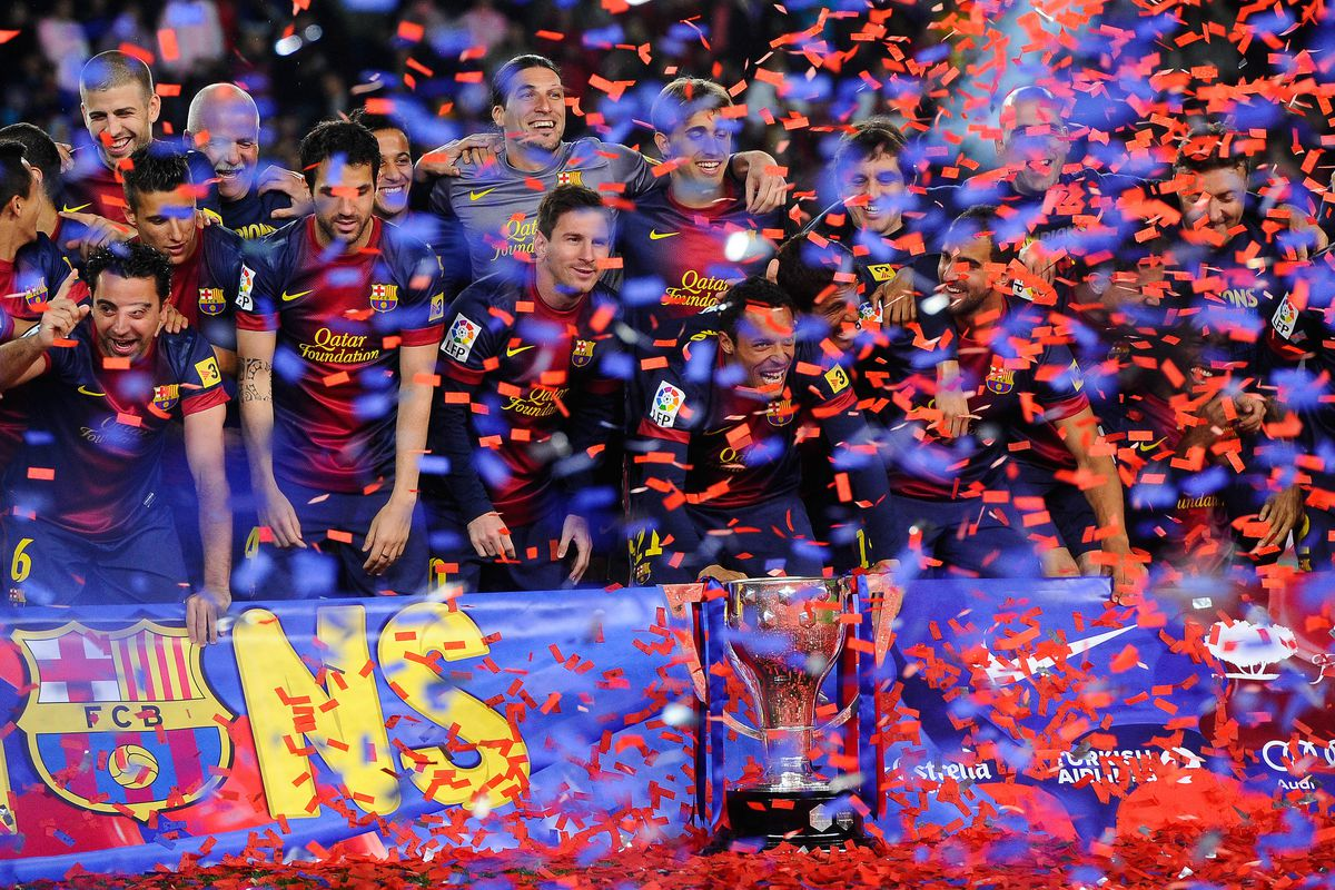 Will Barcelona be celebrating again at the end of this new season?