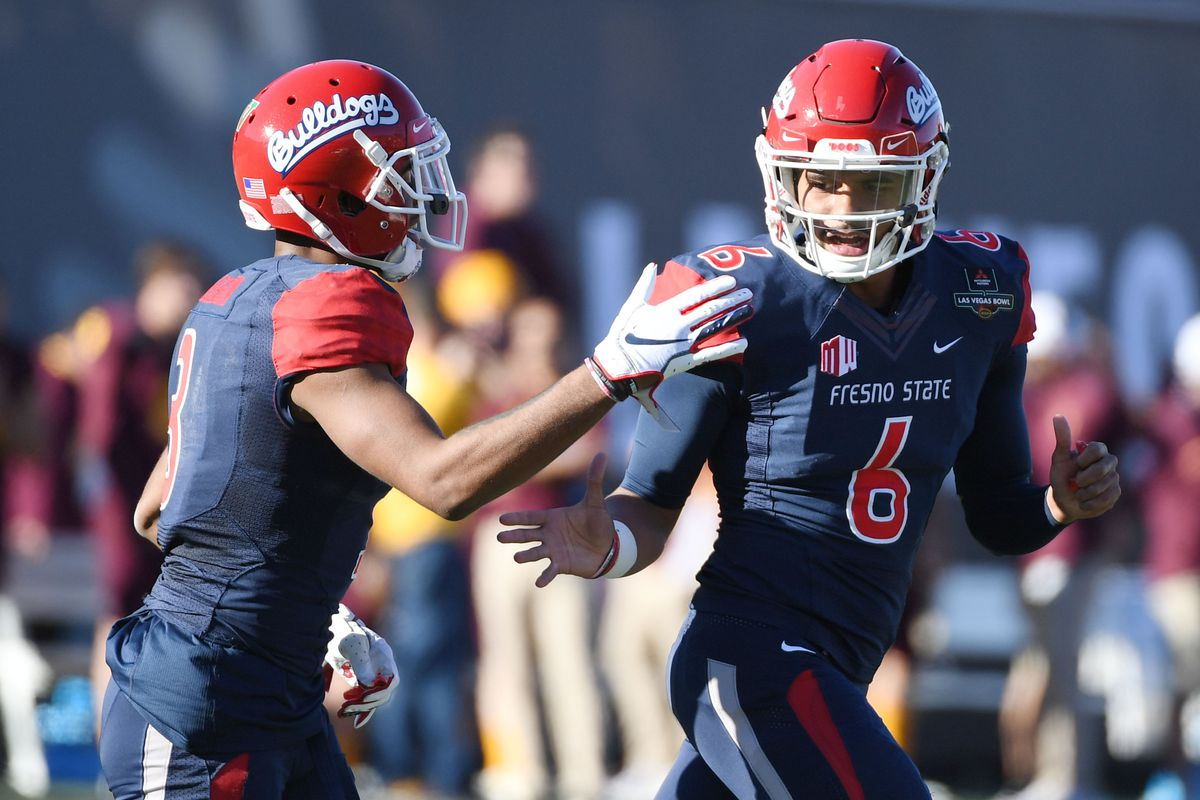official photos 84b7a 999af Las Vegas Bowl: Fresno State finishes season with win over ...