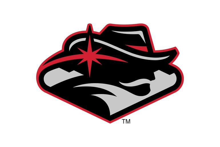 new unlv logo has a giant mustache flowing majestically among