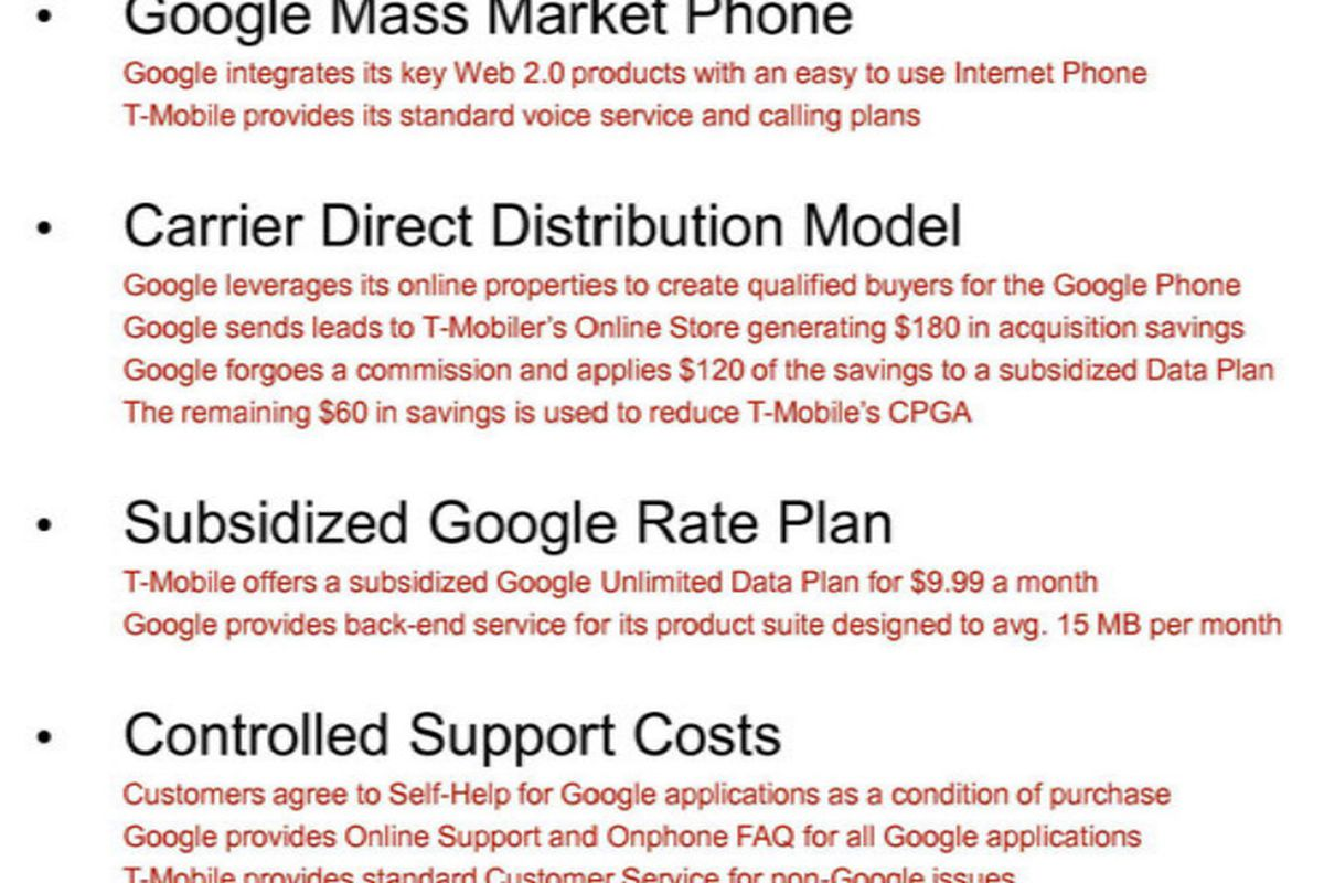 Google Wanted To Subsidize A 9 99 Unlimited Data Plan For Android