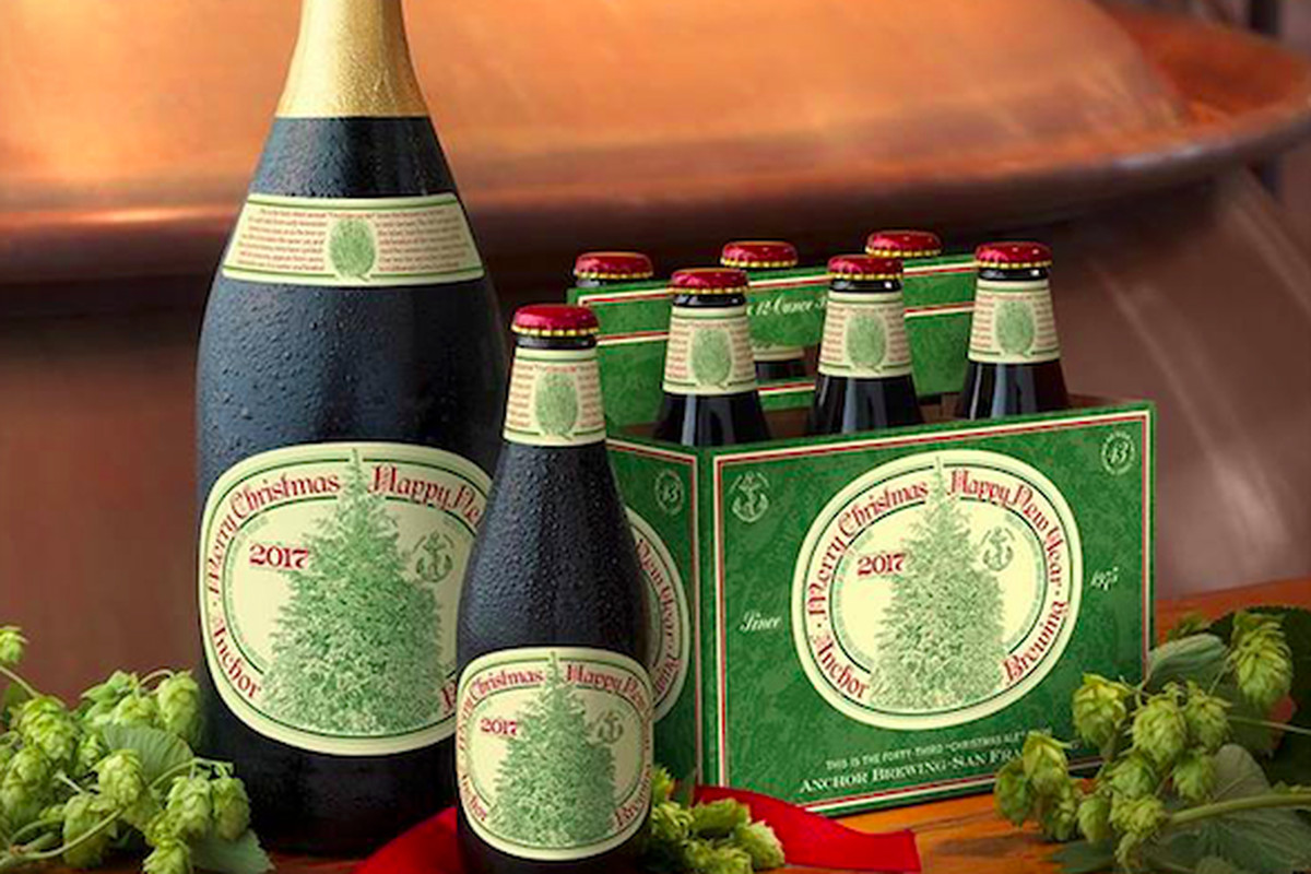 Christmas Ale.Christmas Comes Early With Release Of Anchor Christmas Ale