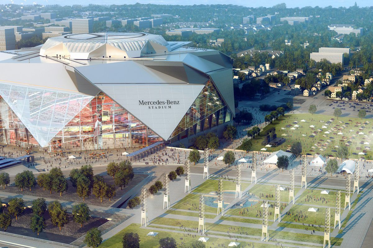 Mercedes Benz Portland >> Mercedes-Benz Stadium Will Have a Restaurant That ...