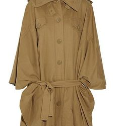 """<b>See by Chloé</b> belted cape, <a href=""""http://www.theoutnet.com/product/216338"""">$120</a> (was $795)."""
