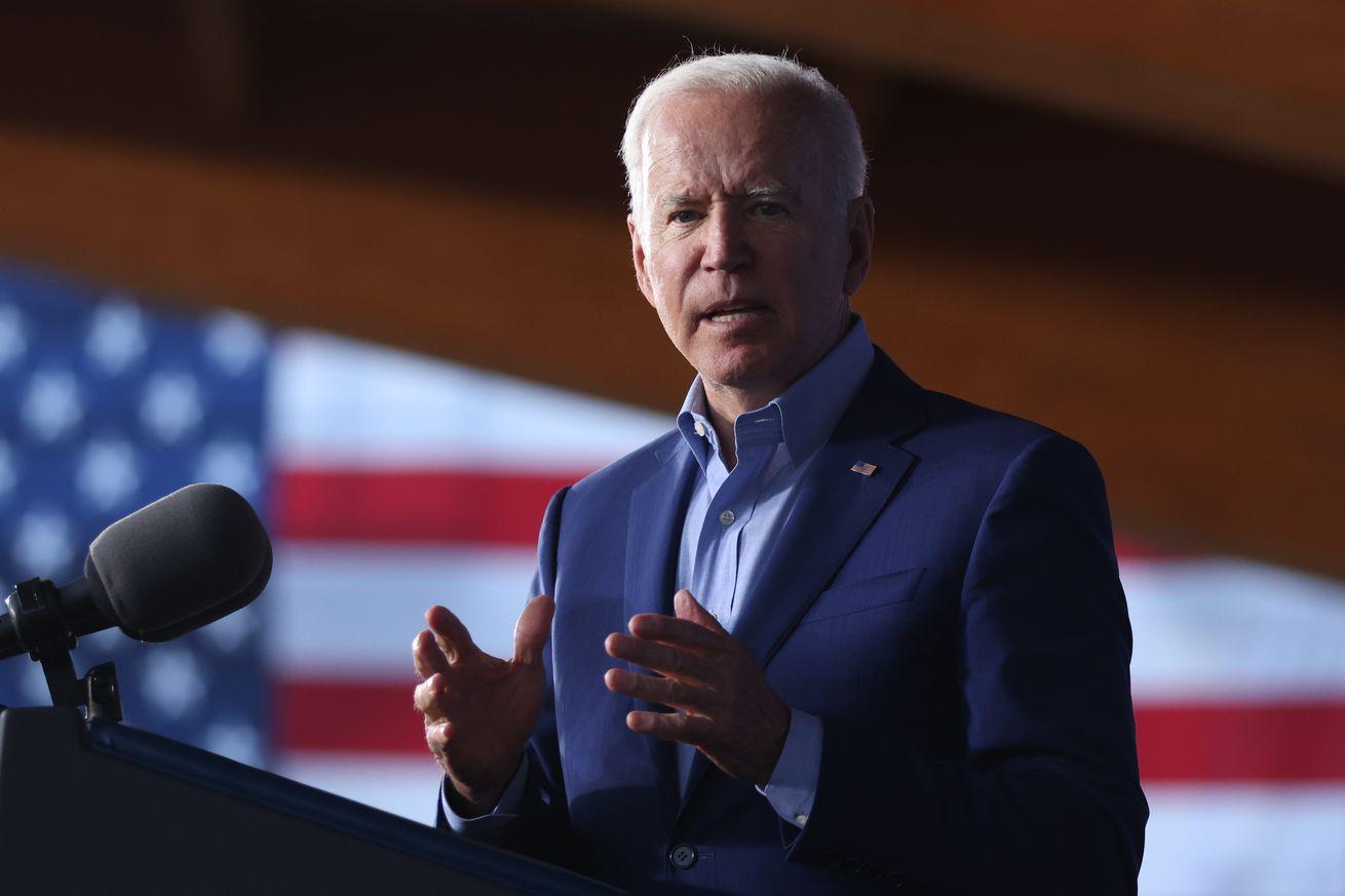 President Biden Participates In Campaign Event For Virginia Gubernatorial Candidate Terry McAuliffe