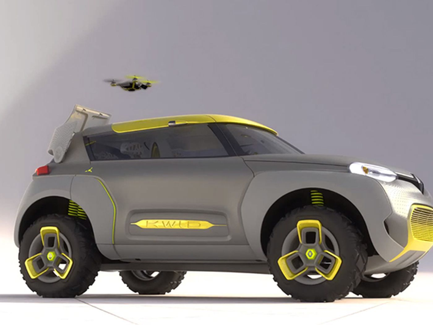 Renault Concept Car Launches Drone To Check For Gridlock Ahead The Verge