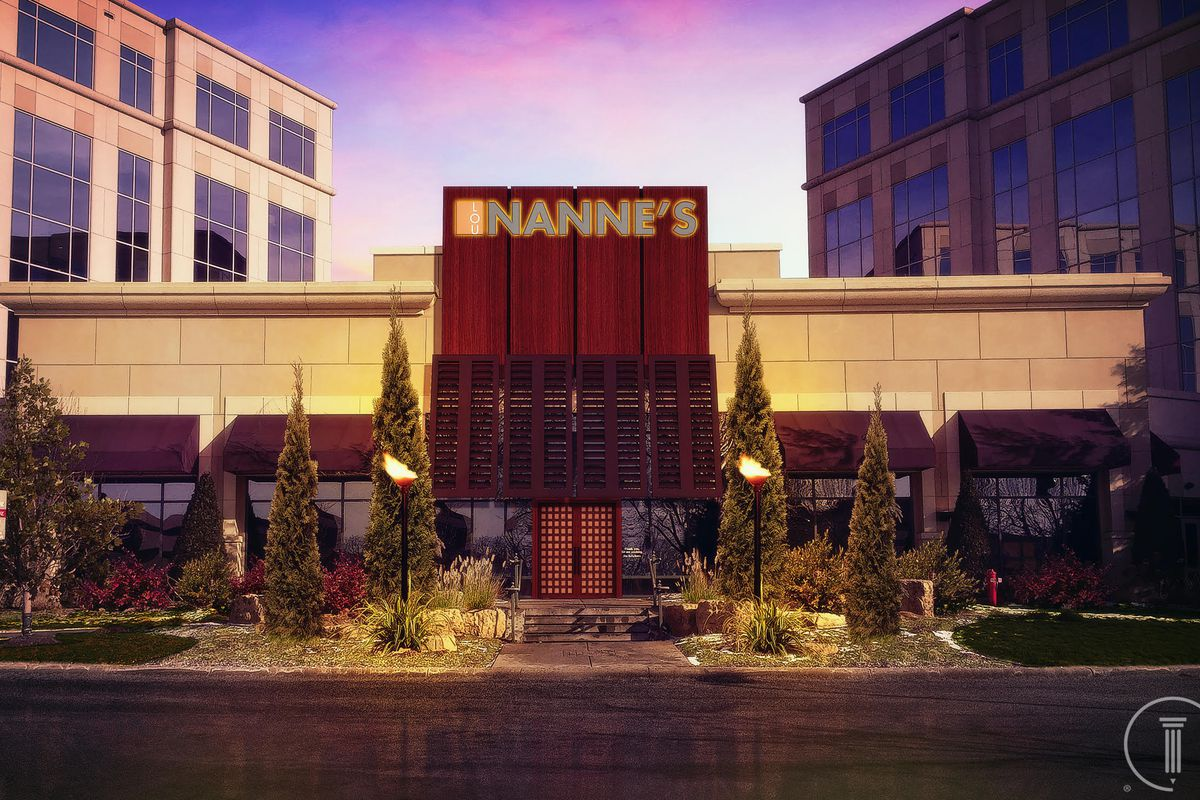 A rendering of the forthcoming Nanne's Steakhouse