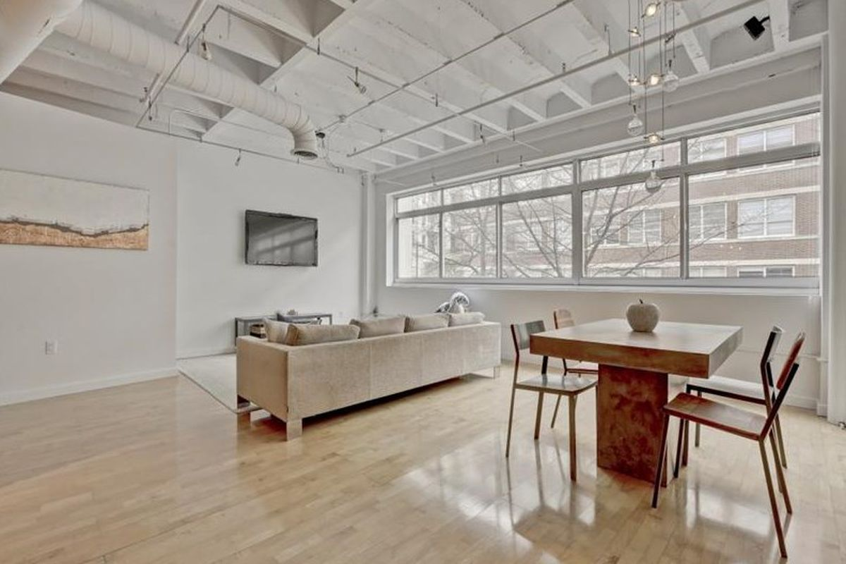 A condo for sale at the 905 Peachtree building in Midtown Atlanta.
