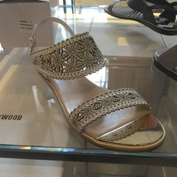 Lasercut sandals, $195 (were $650)